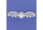 Ivory Venice Applique  112