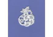 White Rayon Venice Applique  143