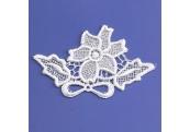 White Ice Venice Applique  206