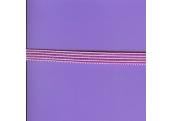 "5 Yds  7/16""  Lavender/White Flat Braid   86X"