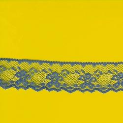"""9 Yds    1 1/8""""   Royal Blue Lace  1810"""
