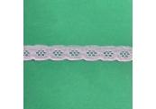 """5 Yds  3/4""""    Lilac Eyelet Lace    1823"""