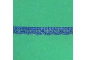 """5 Yds 3/8""""  Tiny Blue Scalloped Lace  1914"""