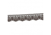 """5 Yds  1 3/8""""  Brown Beading Lace 3881"""