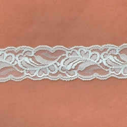 """5 Yds  1 7/8""""  Mint Green Lace  4109"""