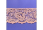 """5 Yds 4 1/8""""  Coral Scalloped Lace   4313"""