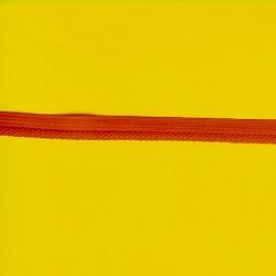 "5 Yds   3/8""  Tiny Red Rayon Soutache Cordedge    1566"