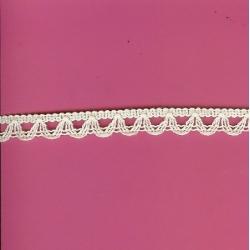 "5 Yds   1/2""    Ivory Crochet Cluny   1226"