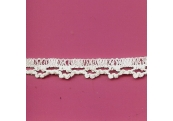 "5 Yds  1/2""   White Crochet Cluny Trim   1590"