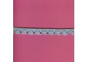 "5 Yds   1/2""   Baby Blue Crochet Cluny  1611"