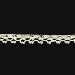 "5 Yds   1/2""    Ivory Crochet Cluny Trim   2443"