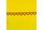"8 1/4 Yds   3/8""    Rose Crochet Cluny Trim    2627"