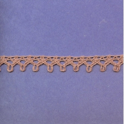 "5 Yds   5/8""     Rose Crochet Cluny   2872"