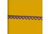 "5 Yds   3/8""    Lavender Crochet Cluny Lace   3064"