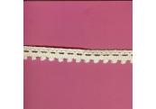 """5 Yds   1/2""""   Ivory Crochet Cluny Lace   3066"""