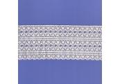 "5 Yds 3 3/8""   Ivory Thin Crochet Cluny Lace   4300"