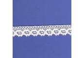 "5 Yds  3/4""  White Crochet Cluny Lace   4514"