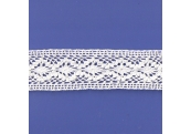 "5 Yds 1 3/4""  White Crochet Cluny Lace   4522"