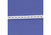 """5 Yds  5/16"""" Off  White Beading Crochet Cluny Lace  4693"""