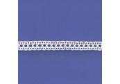 "5 Yds  3/8""  White Crochet Cluny Lace  4696"
