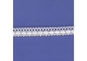 "5 Yds  5/8""  White Crochet Cluny Lace  4705"
