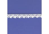 "5 Yds  7/16""  White Crochet Cluny Lace  4709"