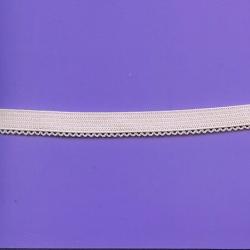 """5 Yds   7/16""""    Lite Pink Elastic/ w Loops 1049"""