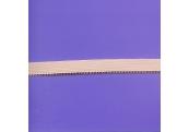 """5 Yds 1/2"""" Pink Thistle Elastic/w Loops   1052"""