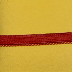 """5 Yds  1/2""""   Red/Loop Elastic  1653"""
