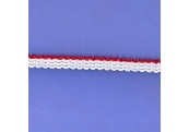 "5 Yds   1/2""   White/Red Elastic    2264"