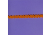 "5 Yds   3/8""    Neon Orange Stretch Rick Rack    2266"