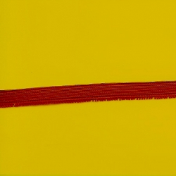 """5 Yds  7/16""""  Red Elastic   3735"""