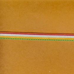 "5 Yds  7/16""  Multi Colors Elastic  3863"