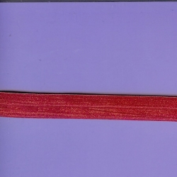 "5 Yds 5/8"" Flirty Pink Fold Over Elastic  4205"