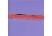 """5 Yds 5/8"""" Sangria Pink Fold Over Elastic  4210"""