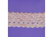 """5 Yds   3 1/4""""   Cotton Embroidery Beading    1174"""