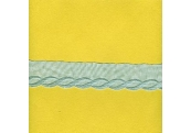 """5 Yds   1 3/4""""  Blue Cotton Embroidery    2041"""