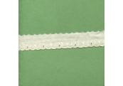 """5 Yds   1""""   Ivory Cotton Eyelet Lace   2826"""