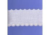 """5 Yds 4"""" Ivory Embroidery Eyelet    4328"""