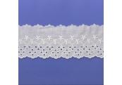 """5 Yds  3"""" Ivory Embroidery Eyelet  4682"""