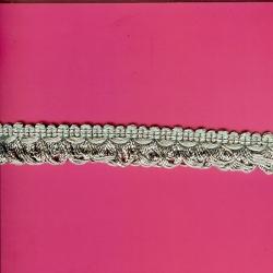 """5 Yds   7/8""""    Green Braid Loop Fringe   1673"""