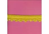 "5 Yds   1 1/4""    Gold Braid Loop Fringe   1727"