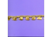 "5 Yds   1/2""   Gold Tiny Fringe Trim   2246"