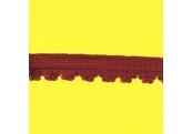 """5 Yds   1 1/4""""     Berry Red Loop Braid Fringe  3532"""