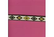 "5 Yds   5/8""    Native Design Jacquard     1209"
