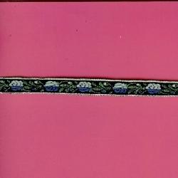 """5 Yds   7/16""""    Floral Jacquard   1414"""
