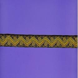 "5 Yds 1 1/4""  Native Aztec  Brocade Jacquard   2867"