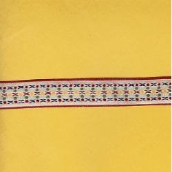"""6 Yds 3/4""""  Vintage Native Design Jacquard   3000"""