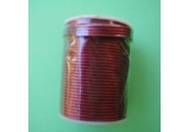 "17 Yds  1/16""  Spool Red Metallic Stretch Cord 1763"