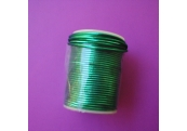 "17 Yds 1/16"" Metallic Green Stretch Cord 1767"